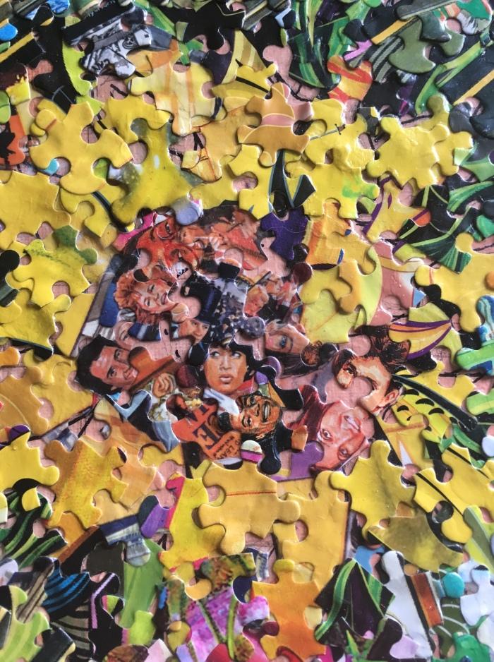 sunflowerpuzpiececollage