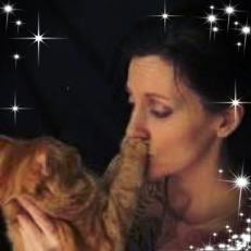 my late cat and me